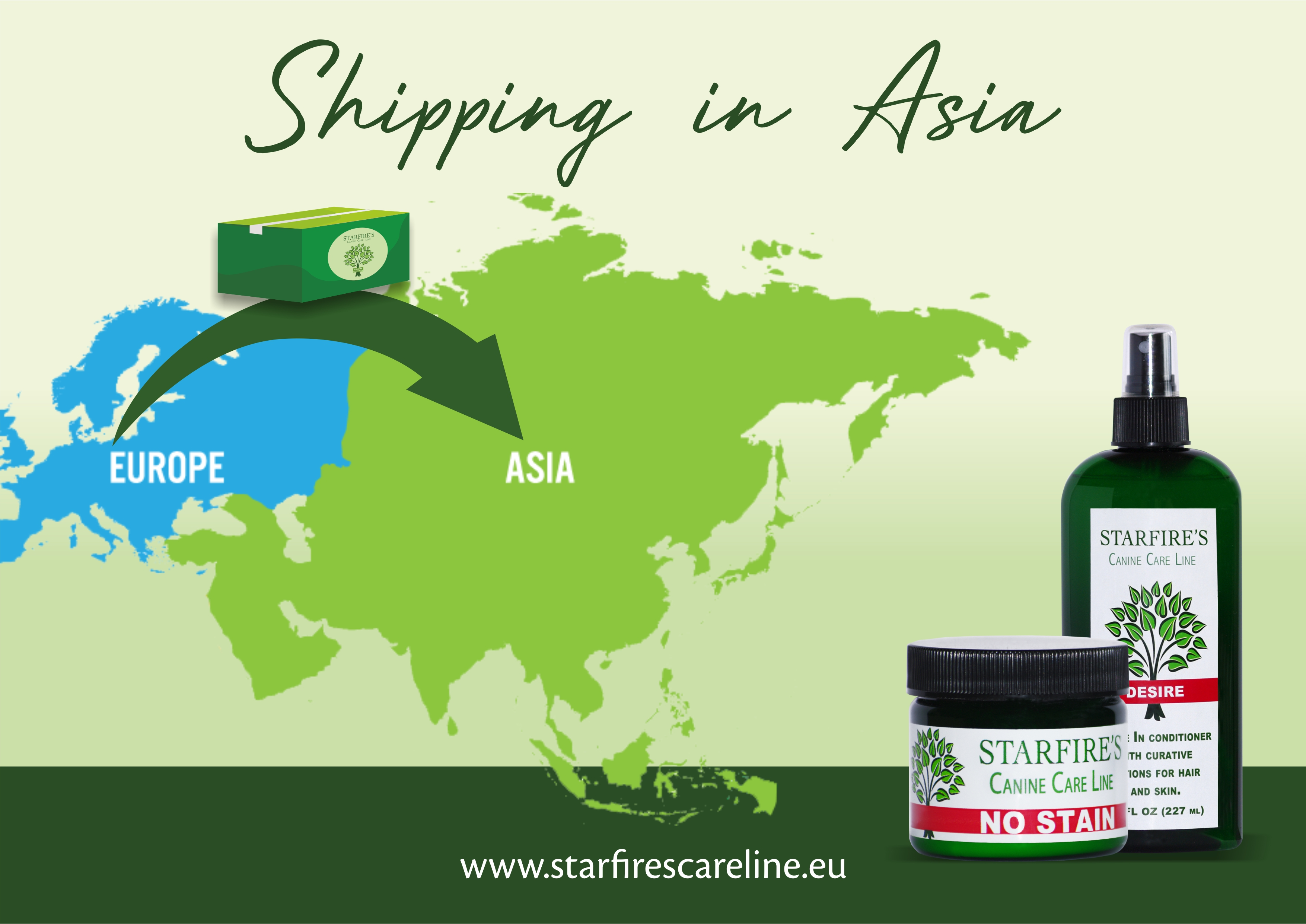 Canine Care Line Now Available In Asia