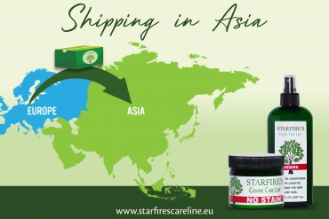 Starfire's Canine Care Line now available in Asia!