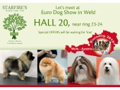 Meet us in European Dog Show- Wels!